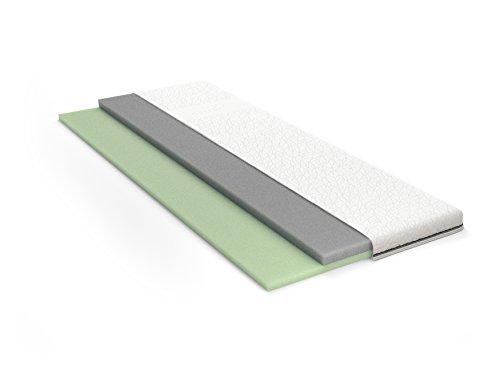 Schlaraffia GELTEX® inside Topper 90x200 cm - mit abnehmbaren Bezug, bis 60°C waschbar - Topperhöhe: ca. 8 cm