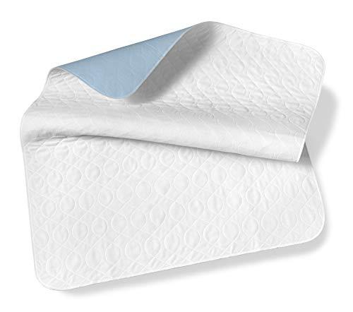 SETEX Wasserdichte Saugvlies Matratzenauflage, 75 x 90 cm, Generation, Weiß, MWU2075090031008