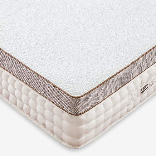BedStory 7.6cm Gel Memory Foam Topper 140x200 Matratzentopper, Visco-Gelschaum Matratzenauflage für unbequemem Betten/Boxspringbett unbequemes Schlafsofa