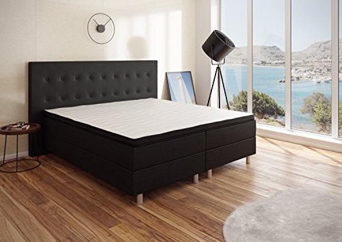 Best For You Boxspringbett 'Neo' First Class Bett Polsterbett in verschiedenen Farben und Größen